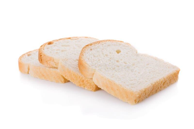 Três fatias do pão imagem de stock royalty free