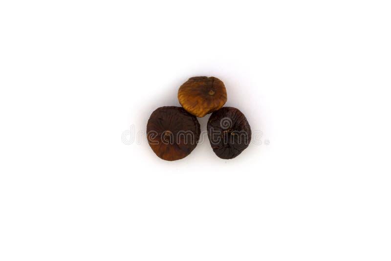 Três figos secados foto de stock royalty free