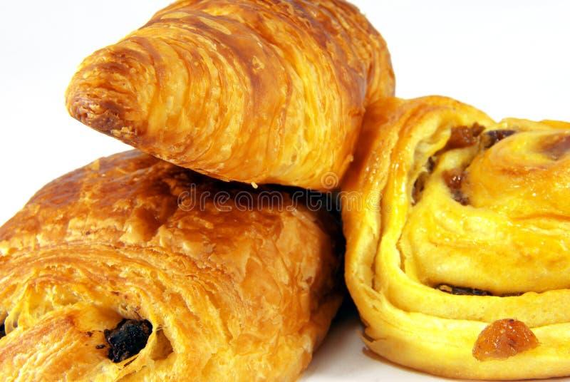 Download Três Franceses Viennoiseries Imagem de Stock - Imagem de dieta, closeup: 10051327