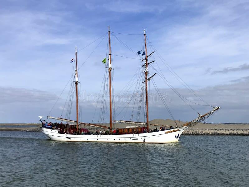 Três holandeses navio suprido Willem Barentsz fotografia de stock