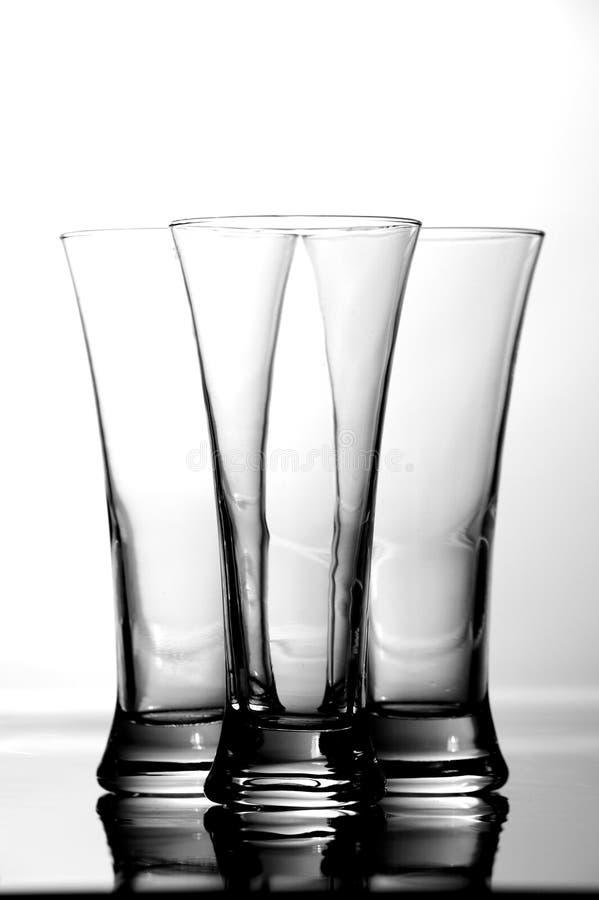 Download Três jogos dos vidros imagem de stock. Imagem de vidro - 10063395