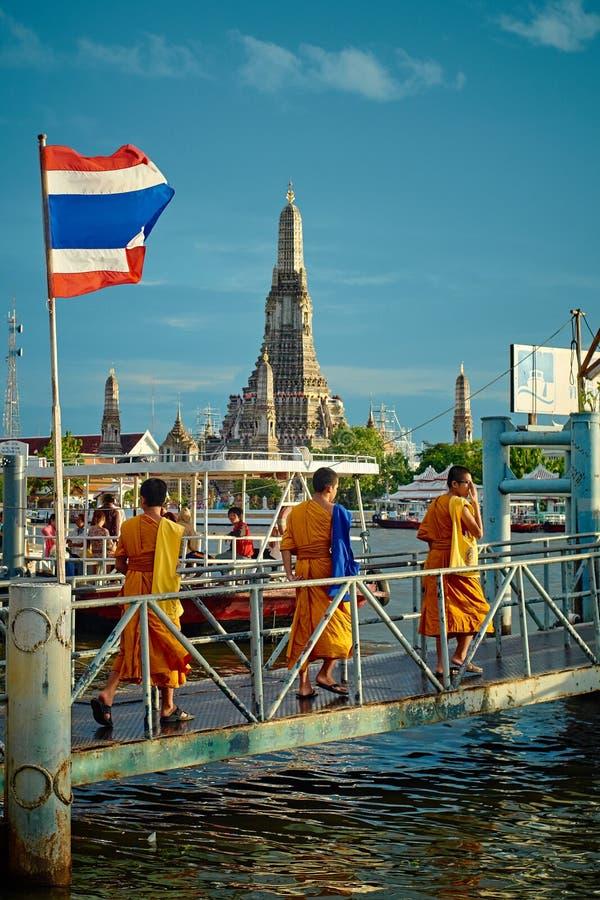 Três monges imagem de stock royalty free