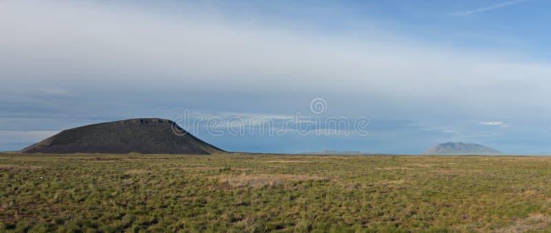 Três montículos, Idaho fotos de stock
