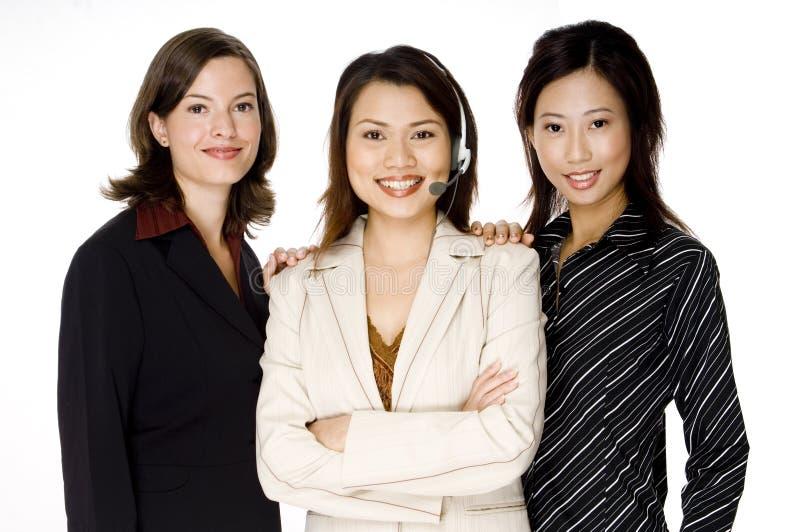 Três mulheres de negócio foto de stock royalty free