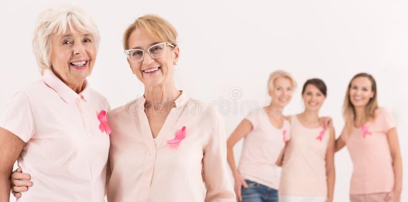 Três mulheres novas foto de stock