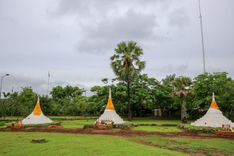 Três pagodes passam, ONG de Dan Jadi sam, Sangkhla Buri, Kanchanaburi, Tailândia imagem de stock royalty free