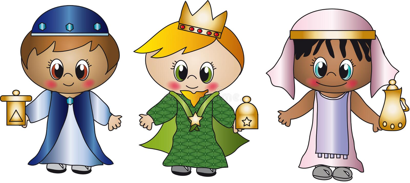 Três reis ilustração do vetor