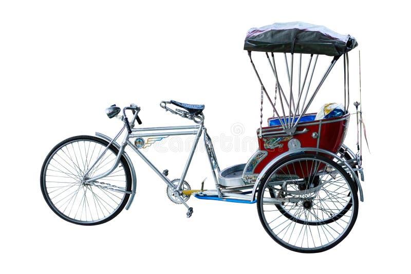 Três rodas do riquexó de Tailândia fotografia de stock