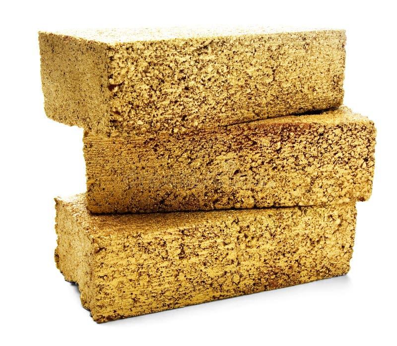 Três tijolos do ouro foto de stock royalty free