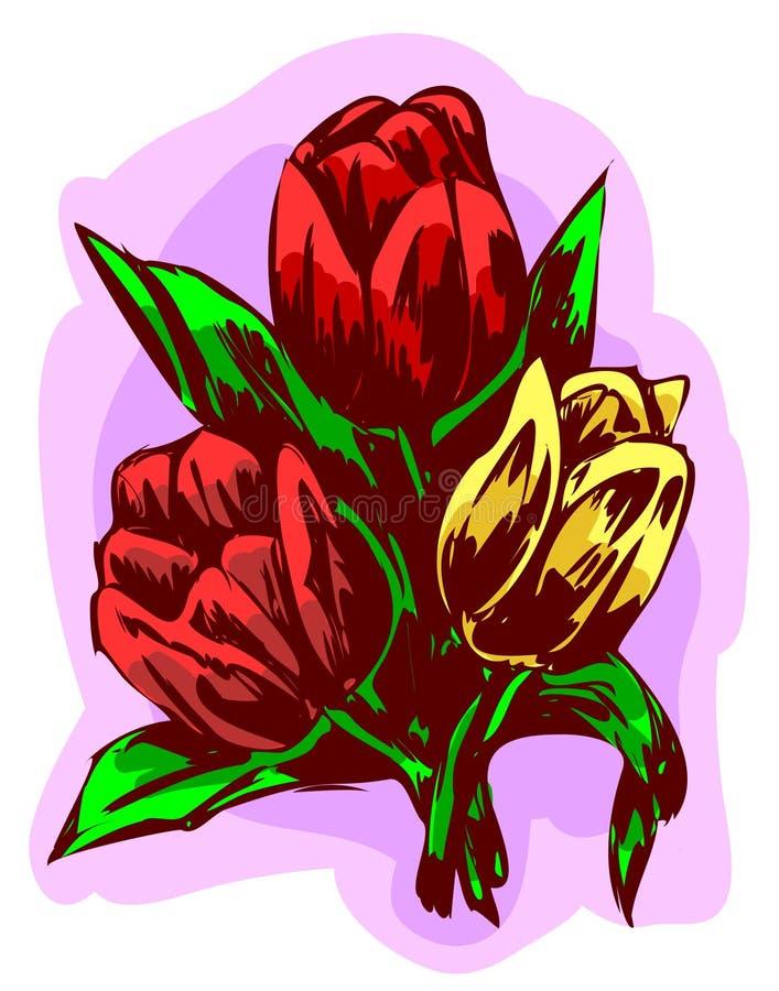 Três tulips
