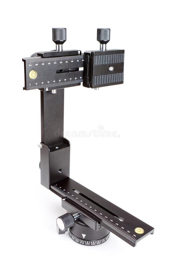 Trípode principal y soporte del cardán para crear viajes virtuales. imagen de archivo
