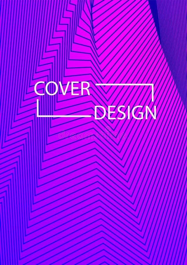 Trójbok pokrywy projekt Szablon dla Biznesowego Broshure, pokrywy książka, ulotka, karta ilustracja wektor