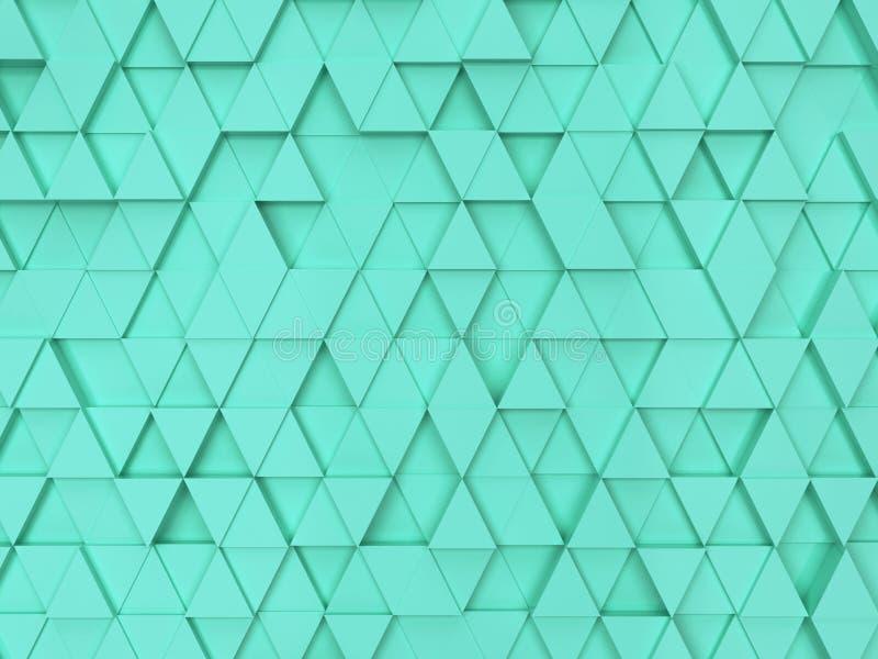 Trójboka abstrakcjonistyczny Wzór ilustracja wektor
