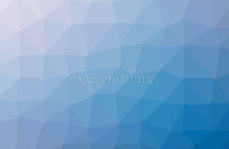 Trójboka Geometrical tło, wieloboka zawijasa projekt Kolorowy zawijasa wielobok royalty ilustracja