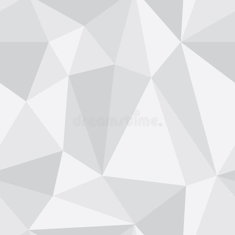 Trójboka bezszwowy wzór ilustracja wektor