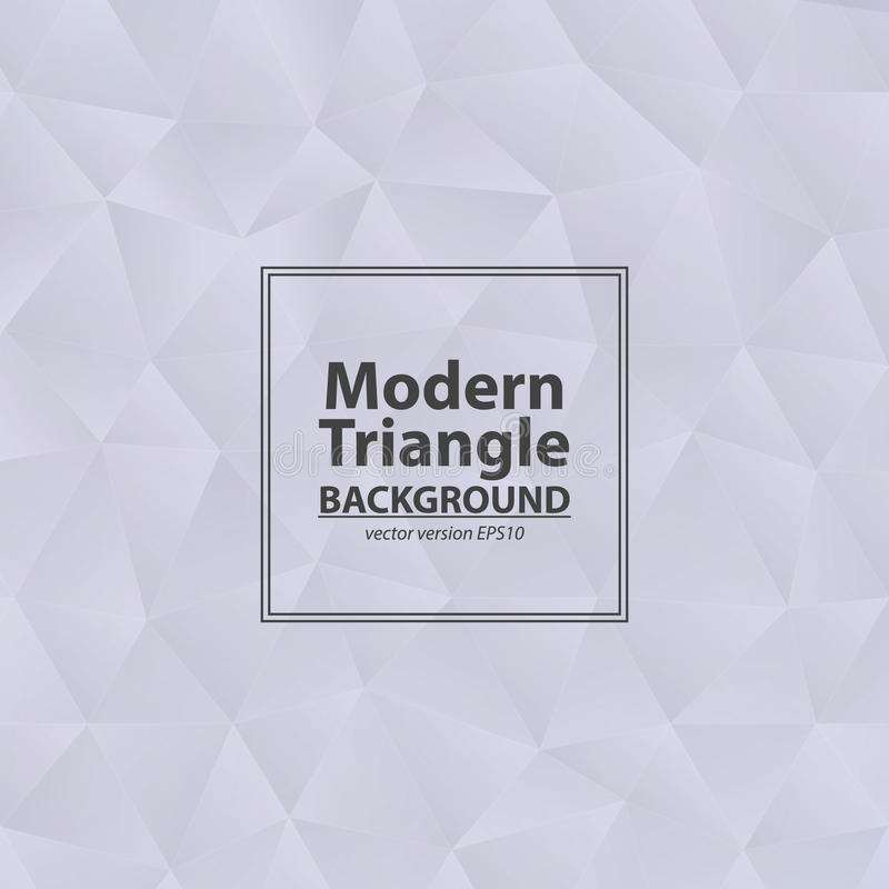 Trójboka popielaty tło z światłem Abstrakcjonistyczny Diamentowy jasnopopielaty royalty ilustracja