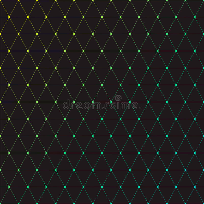 Download Trójboki ilustracja wektor. Ilustracja złożonej z molekuła - 57653721