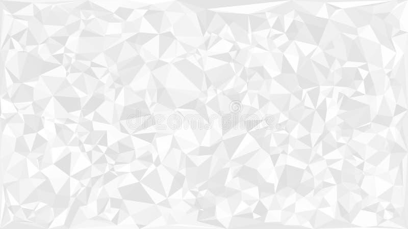 Trójboki abstrakcjonistyczny tło royalty ilustracja