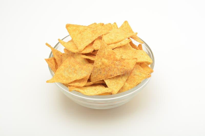 Trójboki lub nachos zdjęcie royalty free