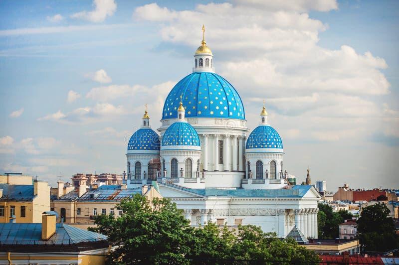 Trójcy katedra, święty Petersburg zdjęcia royalty free