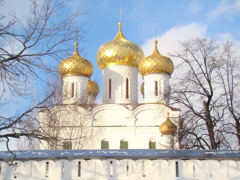 Trójcy ortodoksyjna katedra zdjęcie royalty free