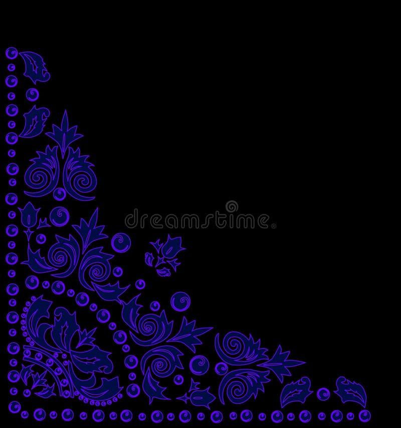 trójgraniasta błękitny dekoracja ilustracja wektor