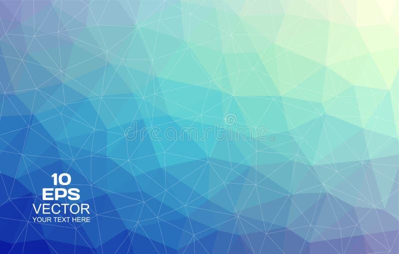 Trójgraniasty abstrakcjonistyczny tło zdjęcie royalty free