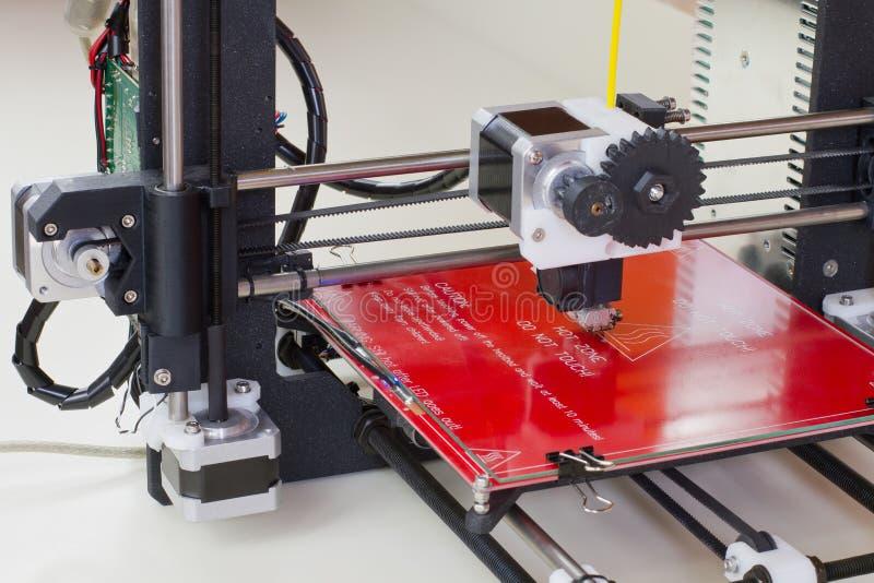 Trójwymiarowa drukarka zdjęcie stock