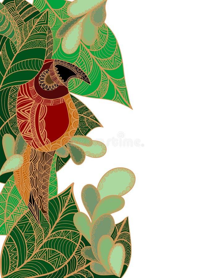Trópicos ilustração royalty free