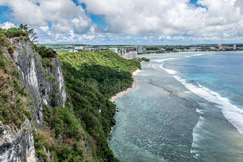 Trópicos de Guam fotografia de stock royalty free