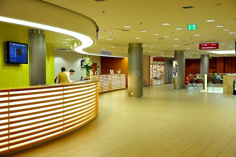 trąbki kongresu hotel Prague zdjęcie royalty free