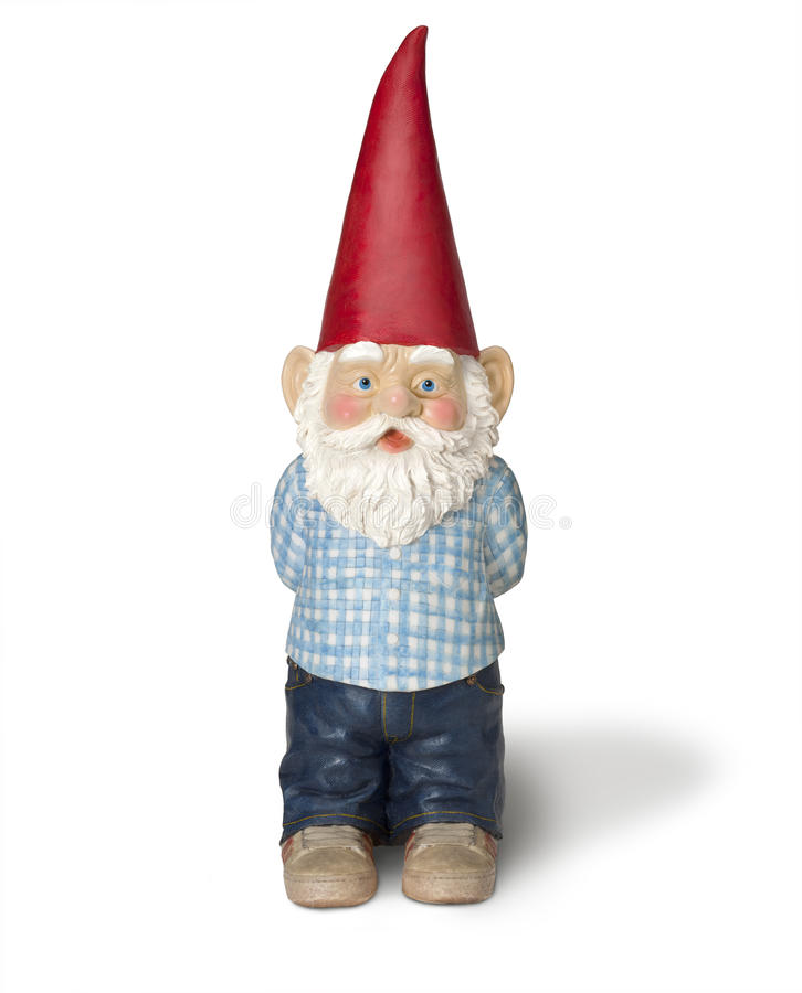 trädgårds- gnome för älva