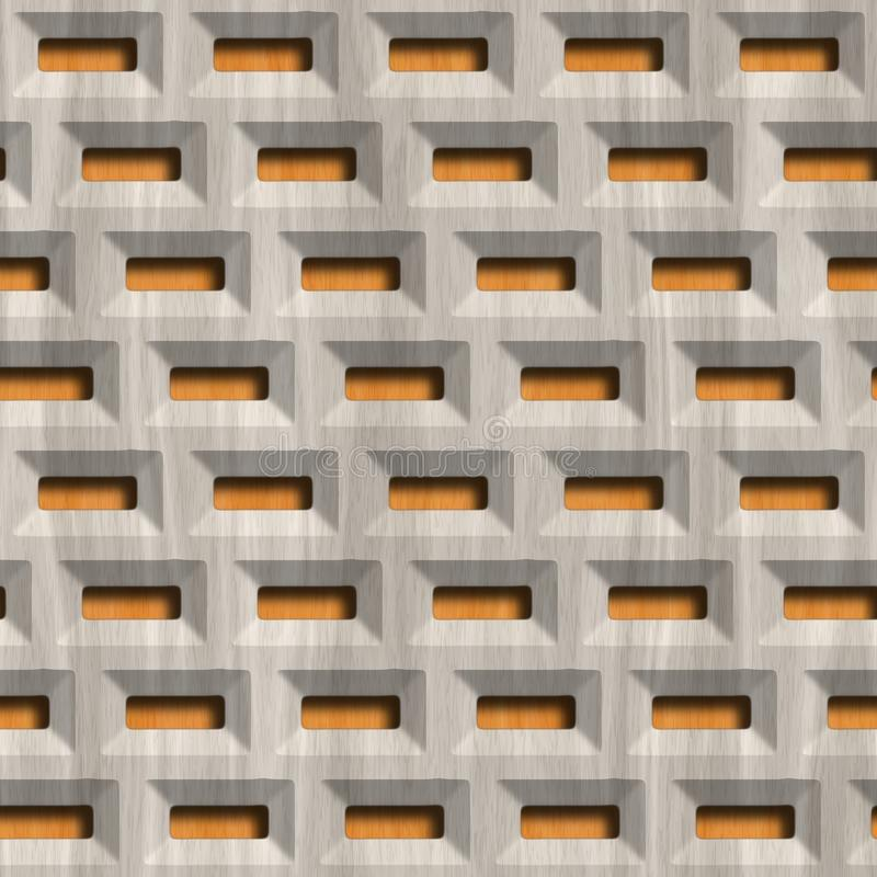 Tr?galler p? wood bakgrund seamless modell arkivfoton