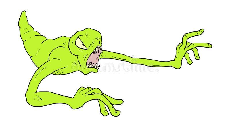 Download Tração do monstro ilustração do vetor. Ilustração de monster - 80101569