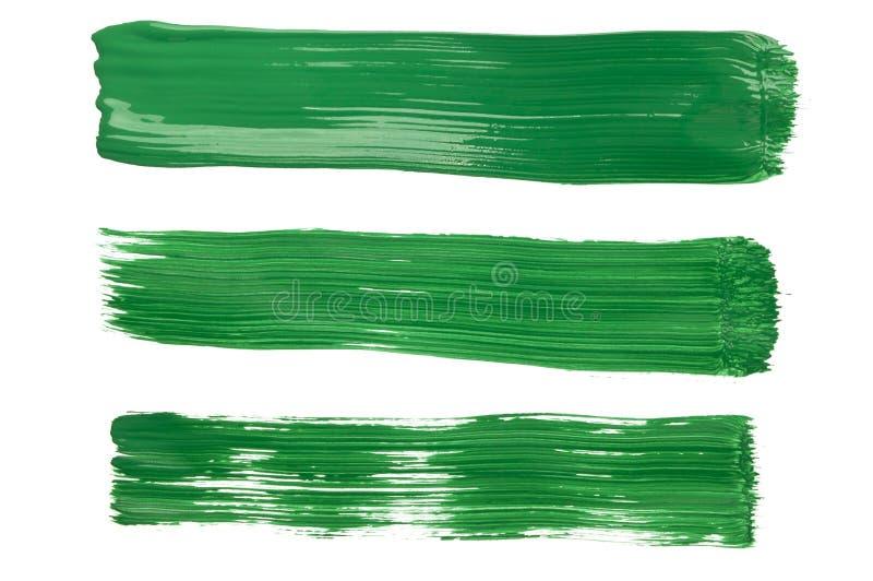 Traçages de peinture verte photo libre de droits