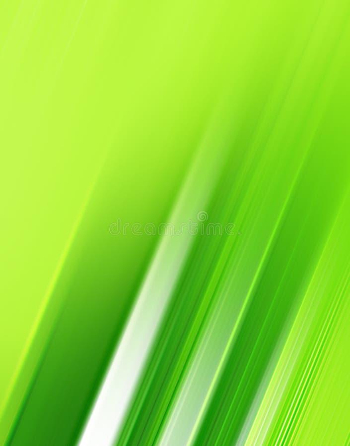 Traçages verts abstraits illustration libre de droits