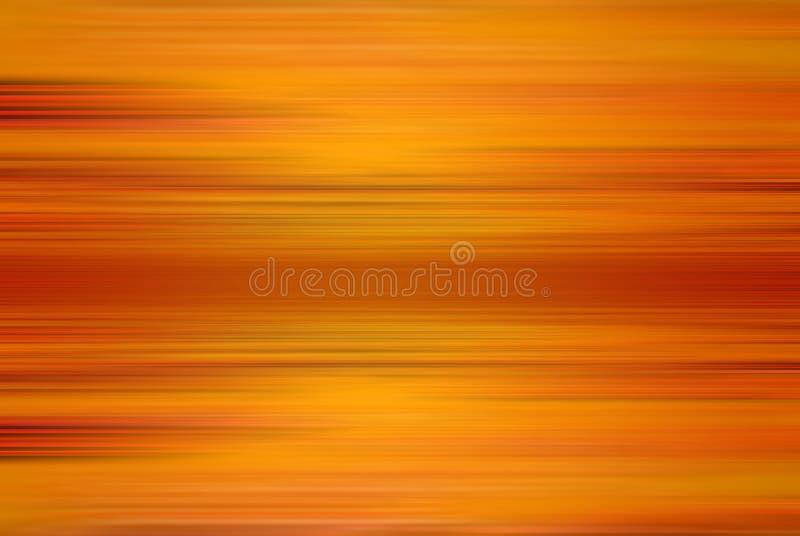 Traînées oranges illustration stock