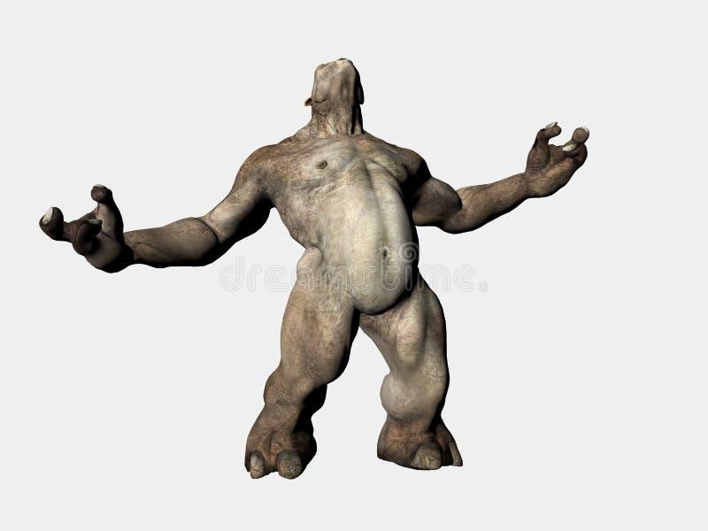traîne de monstre illustration de vecteur