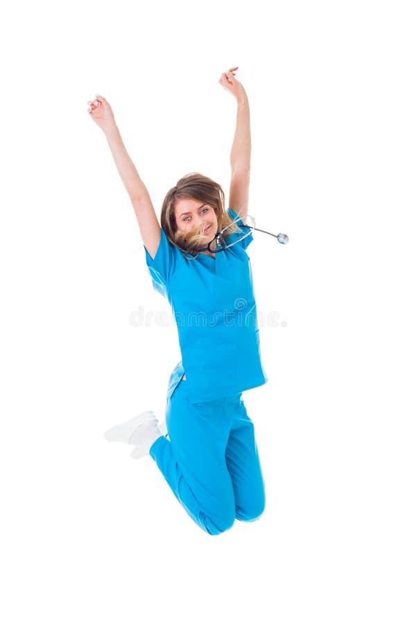 Trabajador acertado del cuidado médico fotografía de archivo libre de regalías