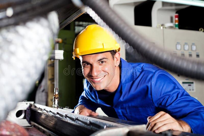 Trabajador de collar azul foto de archivo libre de regalías