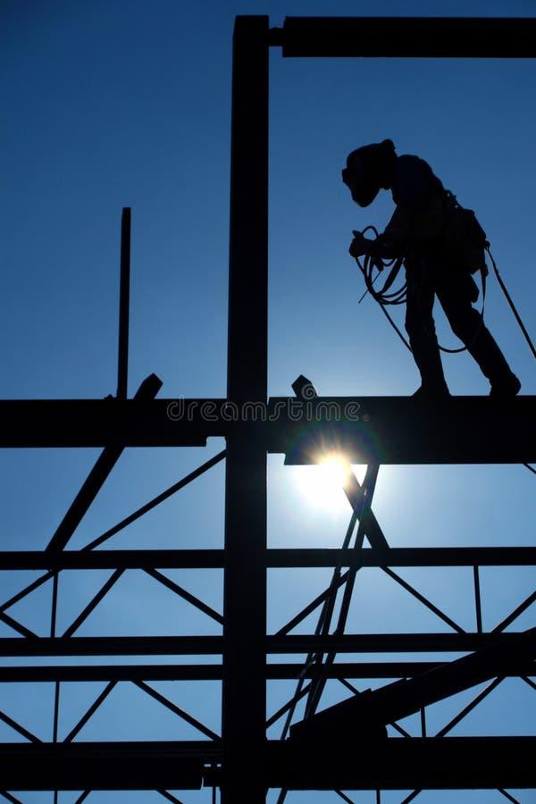 Trabajador de construcción. fotografía de archivo