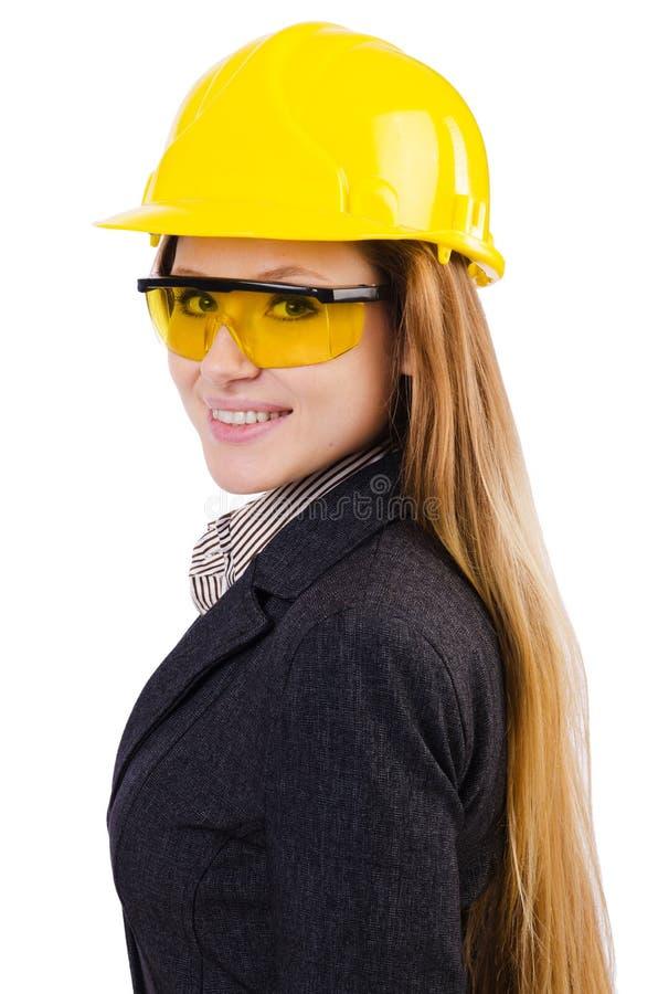 Download Trabajador De Construcción De La Mujer Aislado Foto de archivo - Imagen de hembra, caucásico: 41915820