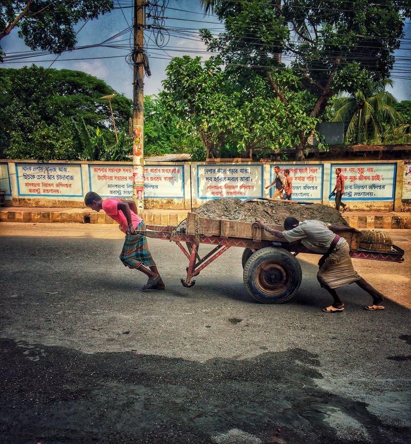 Trabajador de la calle fotos de archivo libres de regalías