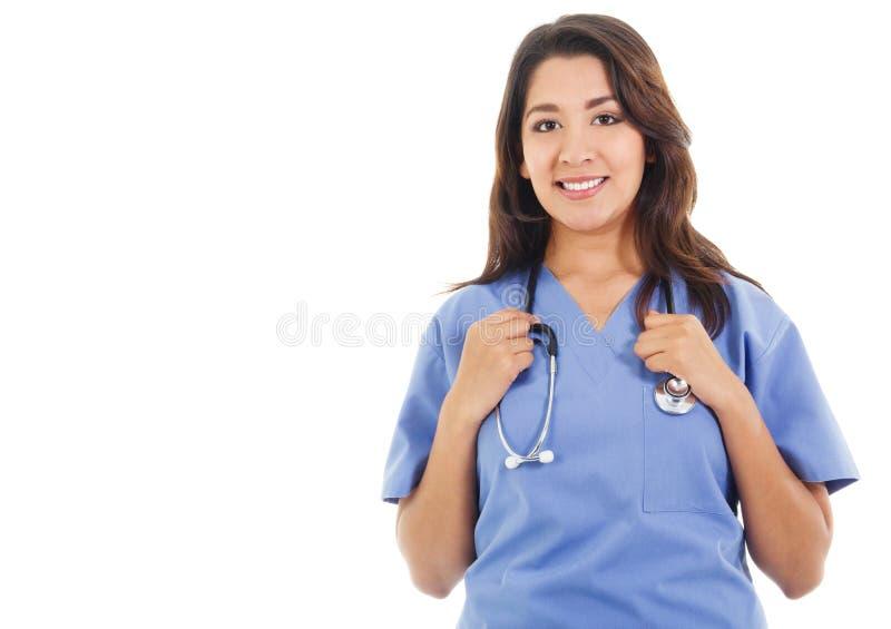 Trabajador de sexo femenino de la atención sanitaria fotos de archivo libres de regalías