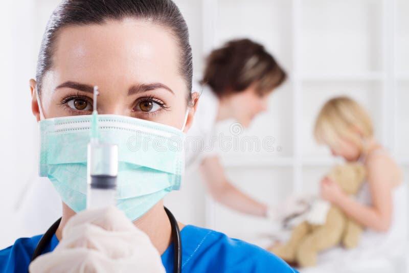 Trabajador médico imagenes de archivo