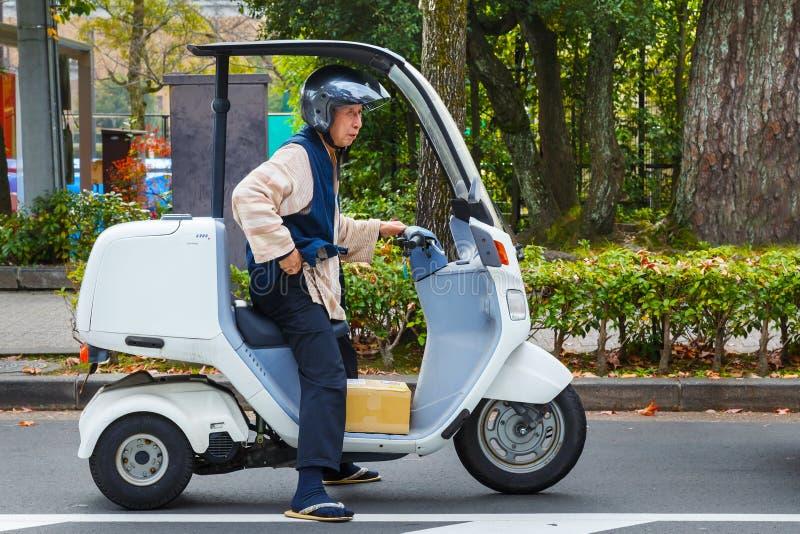 Trabajador mayor japonés foto de archivo