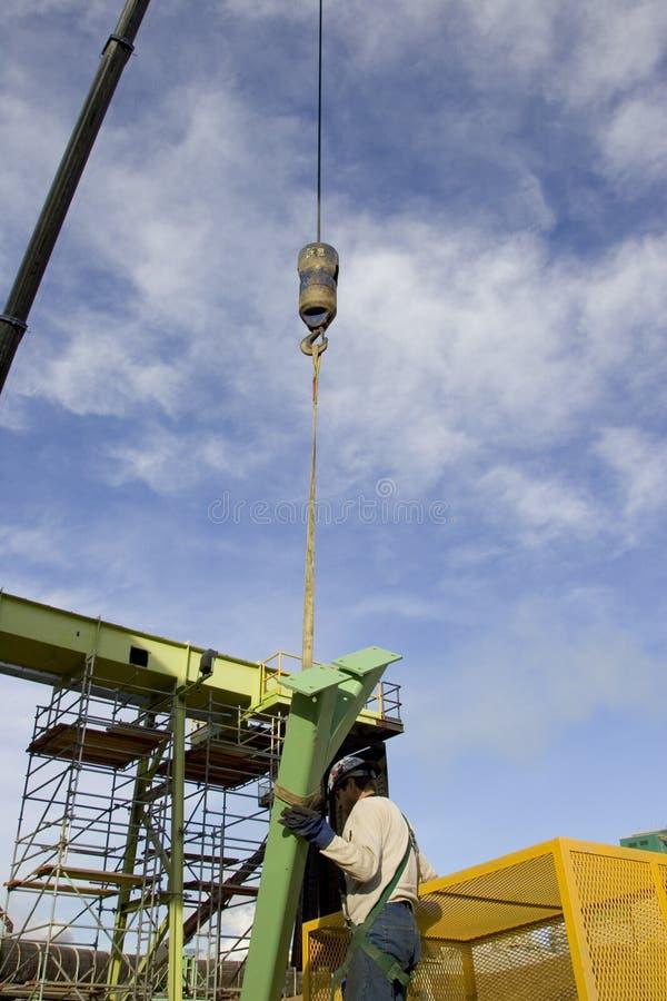 Trabajador siderúrgico foto de archivo libre de regalías