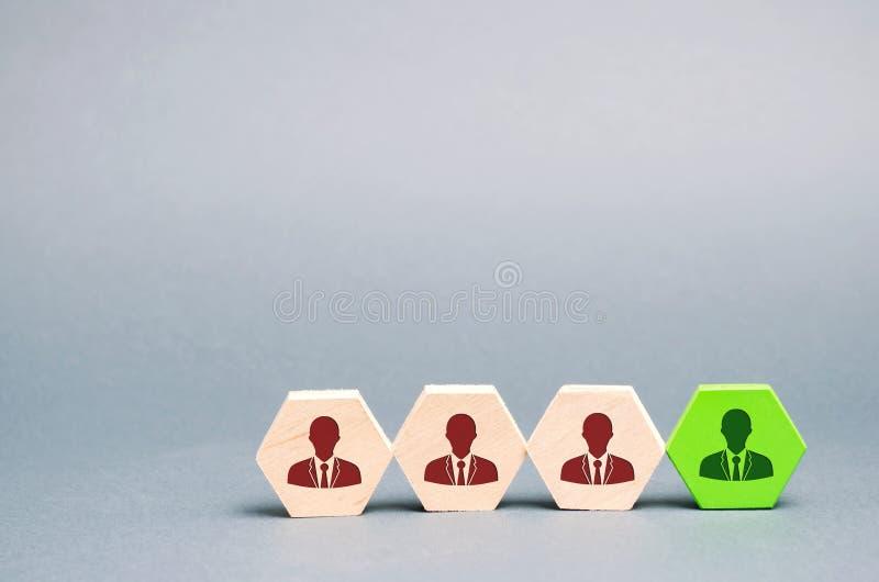 Trabajador talentoso Recursos humanos Gesti?n de personal de funcionamiento El despido de un empleado hiring reclutamiento headhu foto de archivo libre de regalías