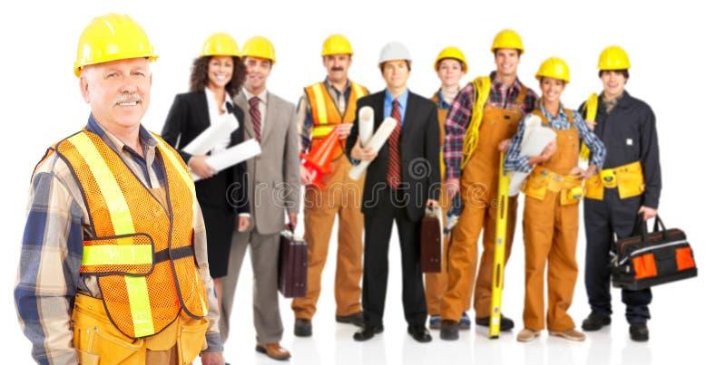 Trabajadores imagenes de archivo