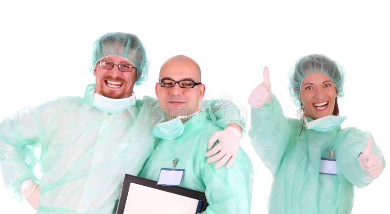 Trabajadores acertados del cuidado médico imagen de archivo libre de regalías